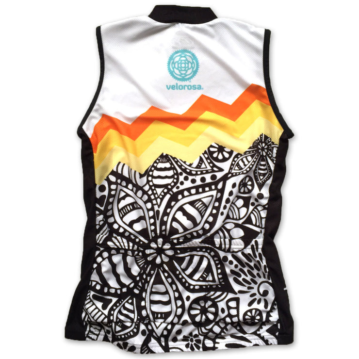 Soul Sister Emma Women's Sleeveless Biking Jersey Back
