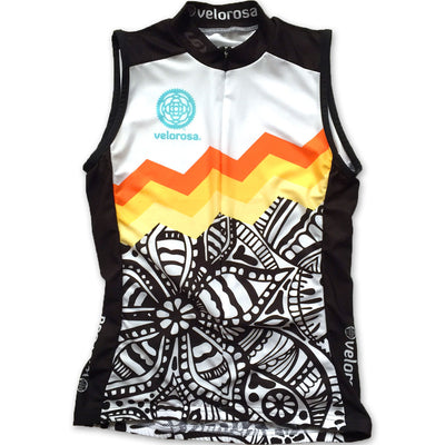 Soul Sister Emma Women's Sleeveless Cycling Jersey Front