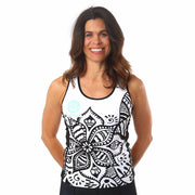 Model wearing Soul Sister Emma Women's Cycling Tank Front