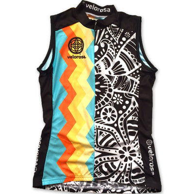 Soul Sister Reese Women's Sleeveless Cycling Jersey Front