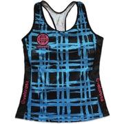 Vista Grid Women's Cycling Tank Front