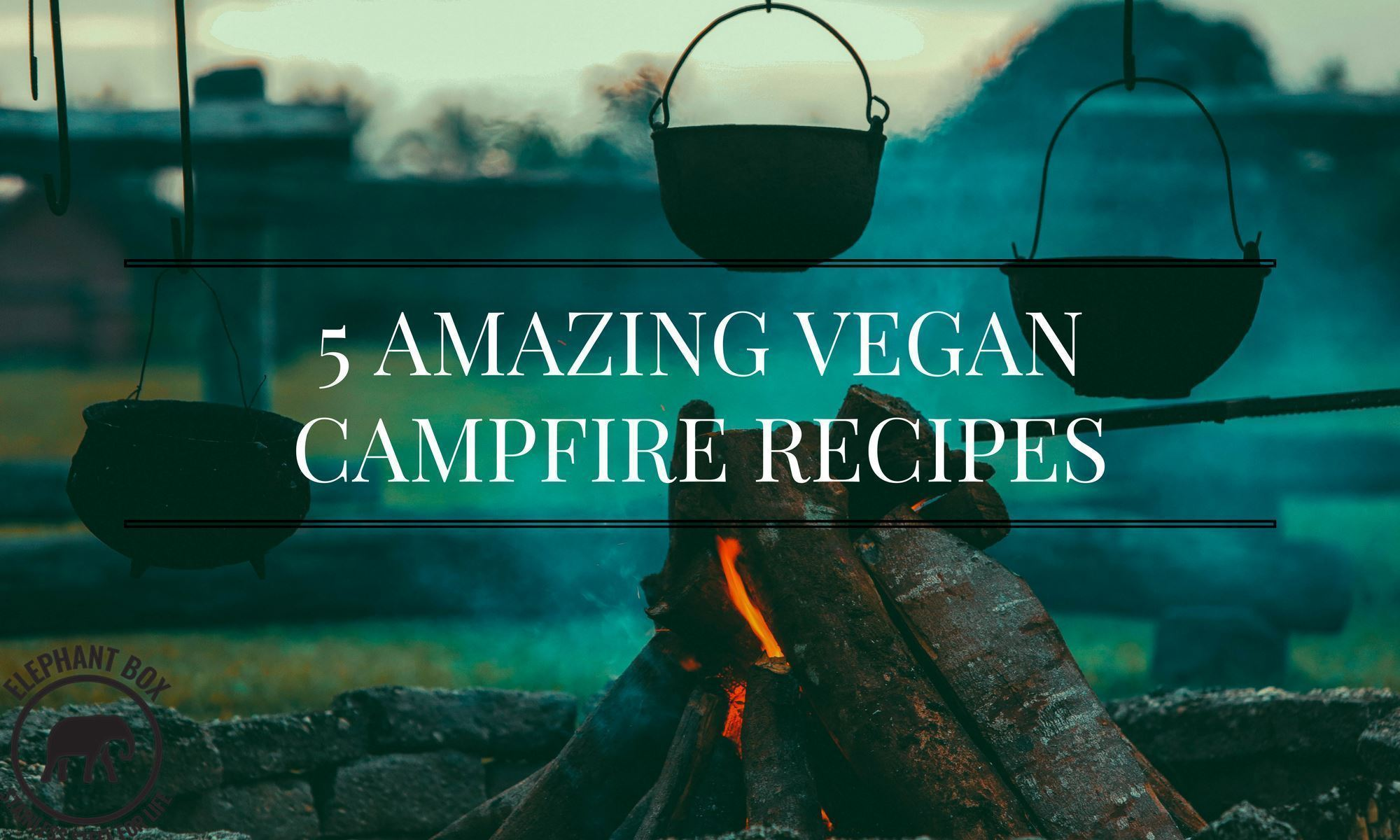 5 Amazing Vegan Campfire Recipes