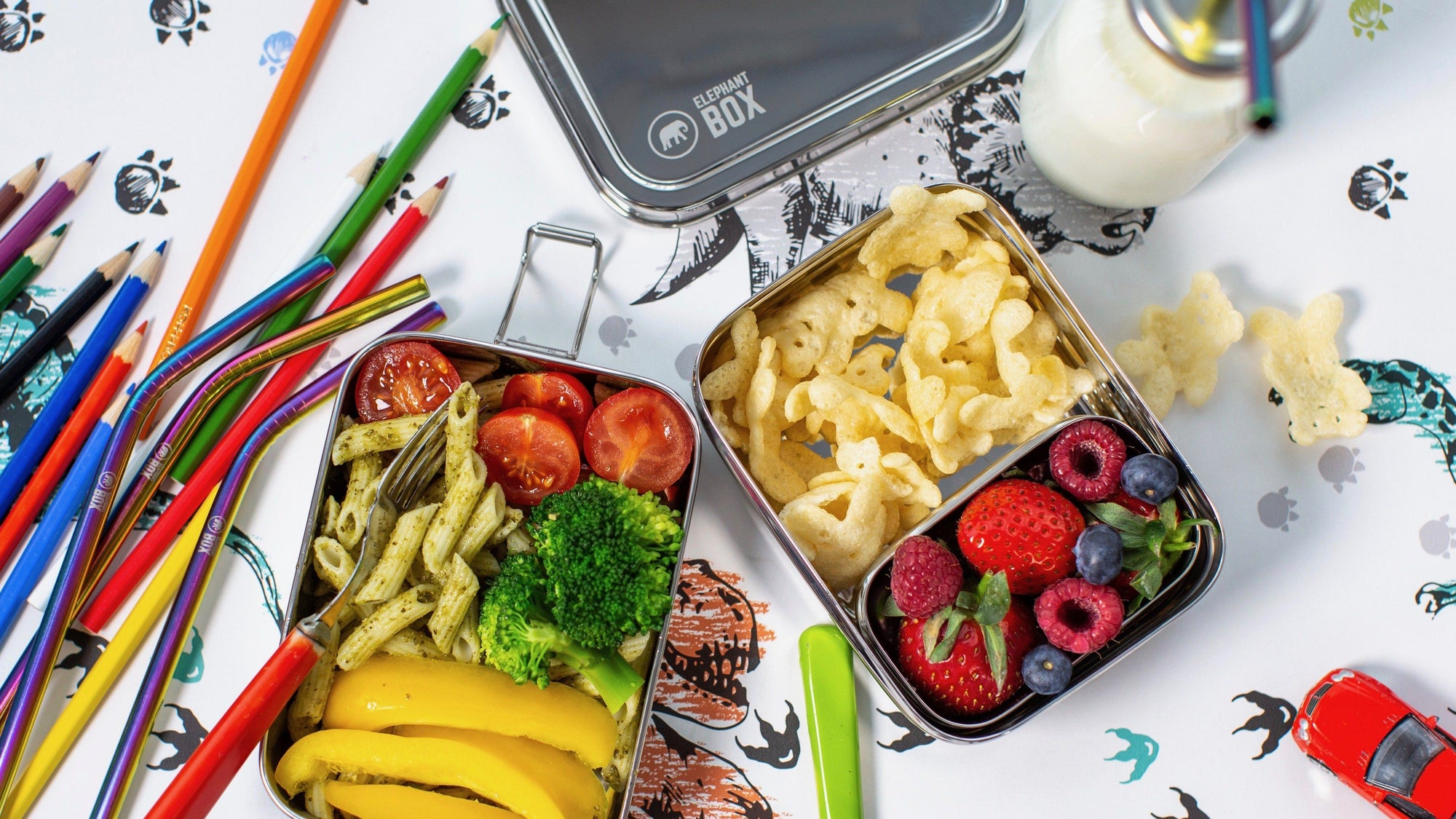 BACK-TO-SCHOOL PACKED LUNCHES EASY (& ECO)!