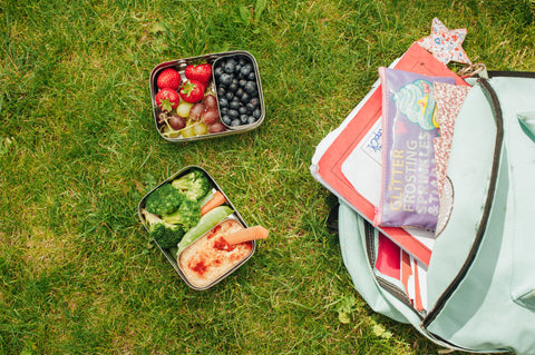 back to school packed lunches in Elephant Boxes
