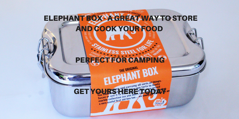 Take your Elephant Box camping