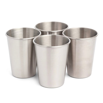 350ml Stainless steel cup - 4 pack cup Elephant Box