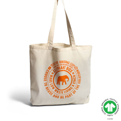 Cotton Tote Bag Tote Bag Elephant Box