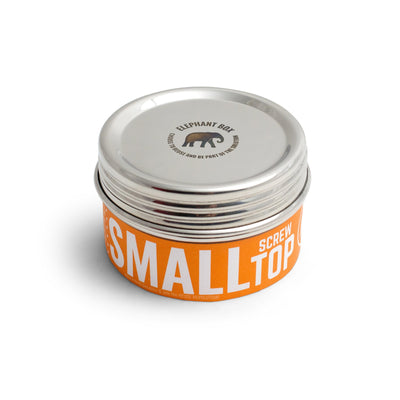 Small screw top canister 300ml snack pots Elephant Box