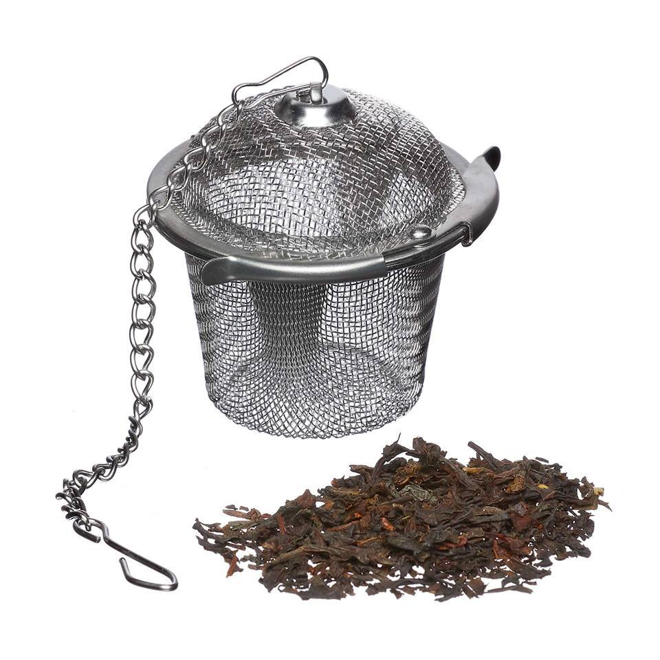 Tea Basket/Infuser. Stainless Steel Elephant Box
