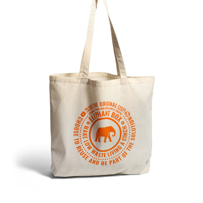 Tote bag Elephant Box