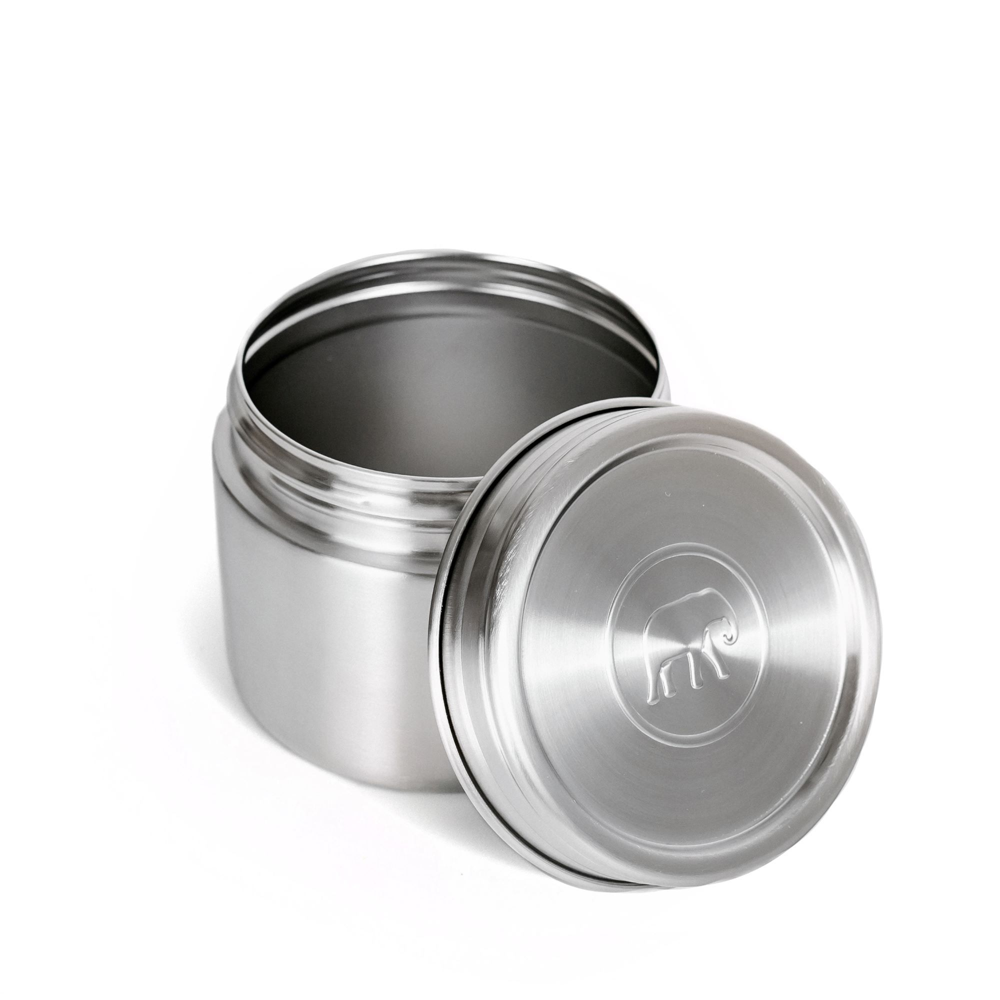 Twist & Lock Leakproof Food Canister 500ml Elephant Box