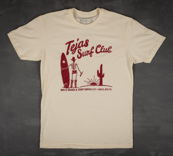 Classic Tejas Surf Club T-Shirt
