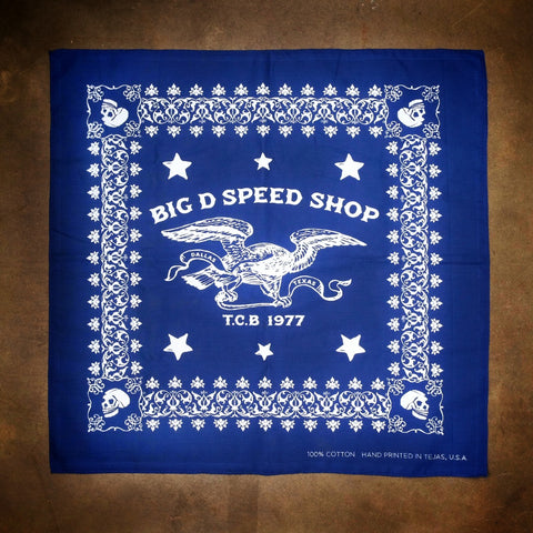 Big D Speed Shop Bandana