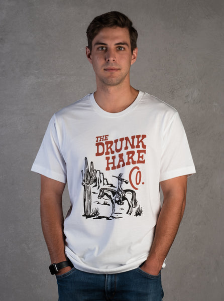 Drunk Hare Cowgirl Tee