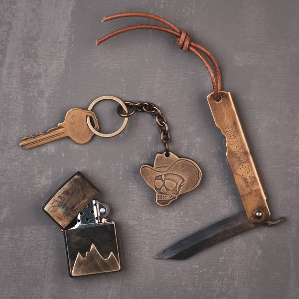 Bonehead Key Ring
