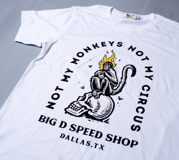 Classic Fire Monkey T-Shirt