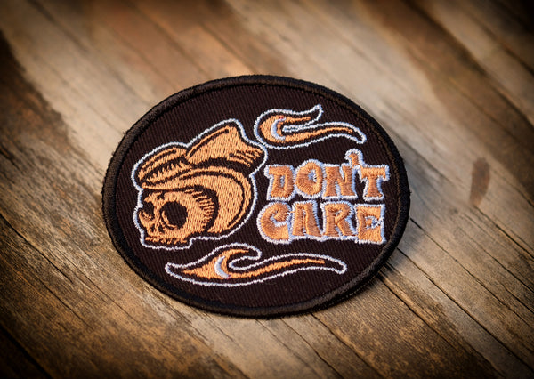 Triumph Don't Care Patch