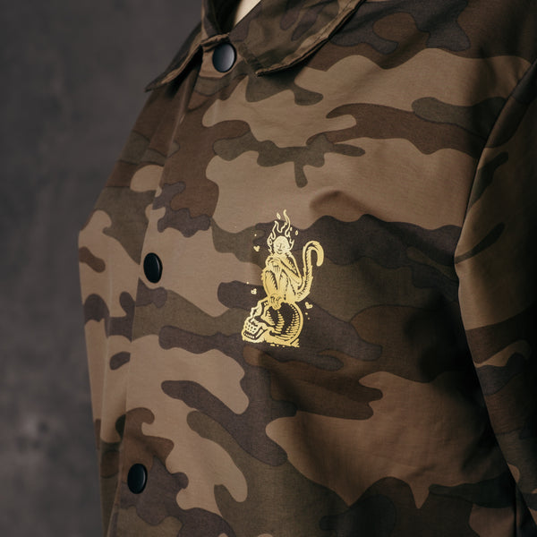 Fire Monkey Coach Jacket