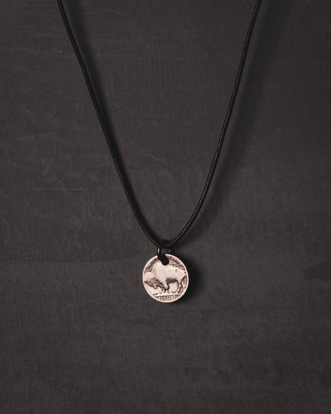 Silver Nickel Necklace