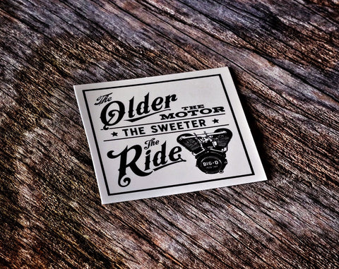 Older the Motor Sticker