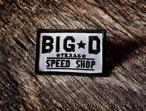 Shop Logo Patch
