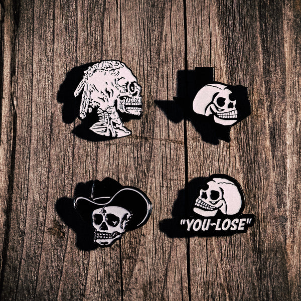 Lapel Pin Set (4 Pins)