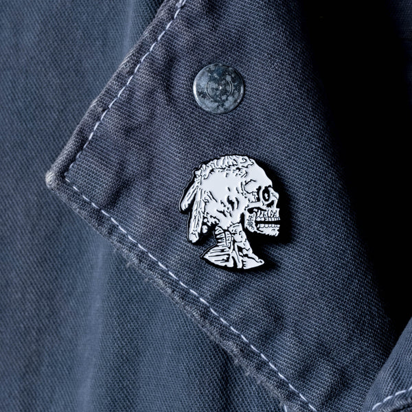 Hobo Nickel Lapel Pin