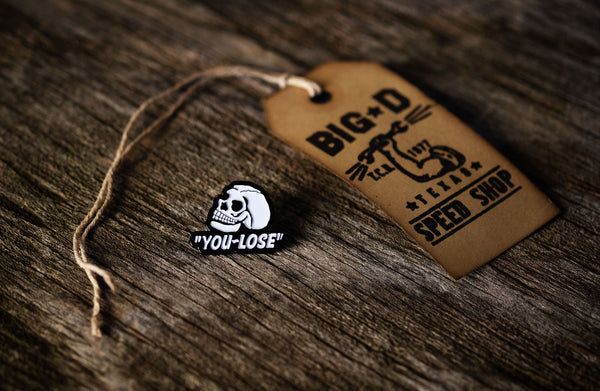 You Lose Lapel Pin