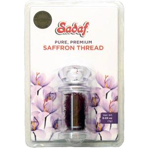 Sadaf Saffron Threads Pure, Premium 1g