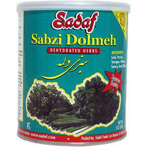 Sabzi Dolmeh - Dried Herbs Mix SDF 2 OZ