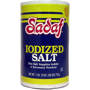 Salt Iodized - Sadaf 26 OZ