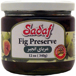 Fig Preserve Sadaf 12OZ