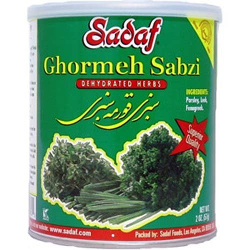 Sabzi Ghormeh - Dried Herbs Mix SDF 2 OZ
