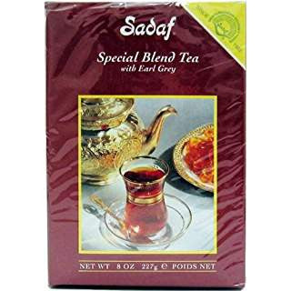 Sadaf Special Blend Tea with Earl Grey, 8 OZ
