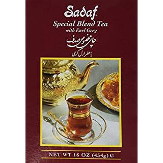 Sadaf Special Blend Tea with Earl Grey 16 OZ