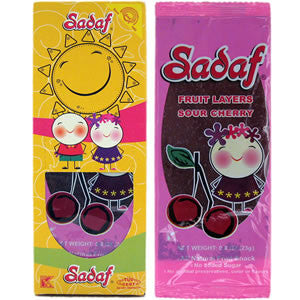 Sadaf Sour Cherry Fruit Layer - Lavashak (Lavoshak) 23g
