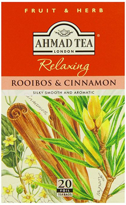 Ahmad Cinnamon & Rooibos Herbal Tea
