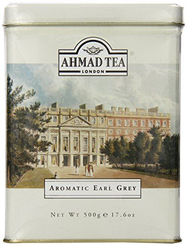 Ahmad Aromatic Earl Grey Tea 500Gr. Tin