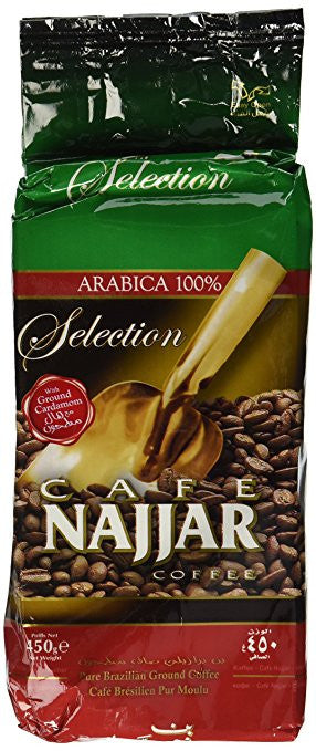 Najjar Arabica 100% Coffee with Ground Cardamom 450Gr