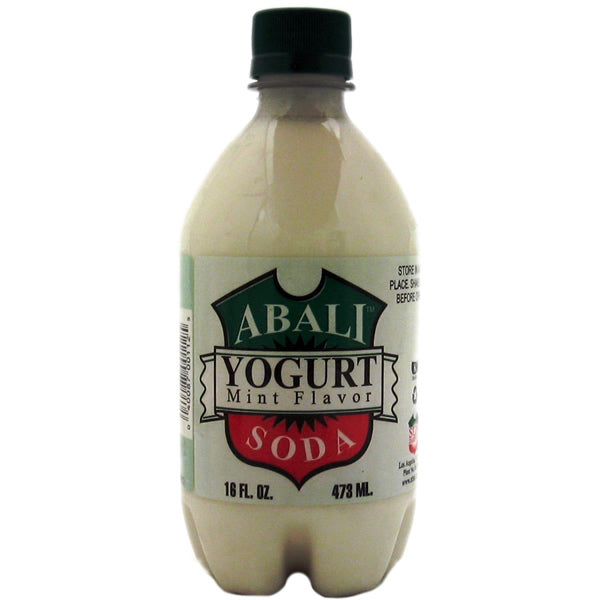 Abali Yogurt Soda Mint 16fl.OZ (4pcs)