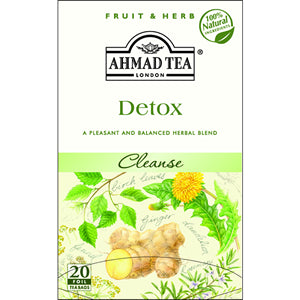 Ahmad Herbal Detox Tea Cleansing Infusion 20 Tea Bags