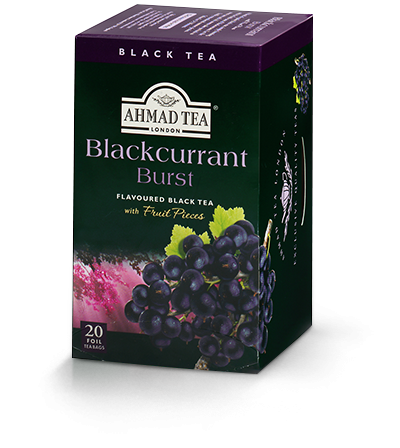 Ahmad Blackcurrant Burst flavored Black Tea 20 Tea Bags