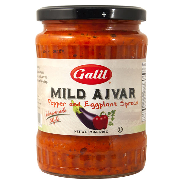 Eggplant Spread with Pepper - Mild Ajvar Galil