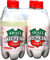 Abali Yogurt Soda Original Flavor 16oz (4pcs)