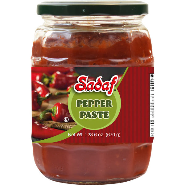 Sadaf Mild Pepper Paste 23.6 oz