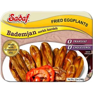Sadaf Fried Eggplants Bademjan 12oz (340g)