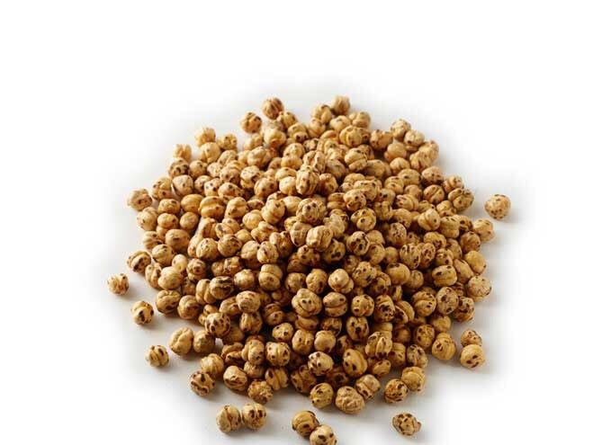Double Roasted Chickpeas Unsalted BULK 1LB