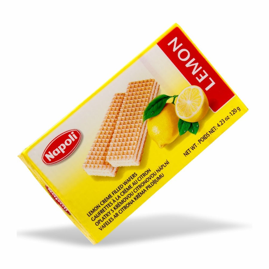 Napoli Lemon Wafer 4.23 Oz. (120g)