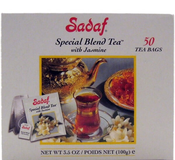Sadaf Special Blend Tea with Jasmine 50 T/B 3.5 OZ (100g)
