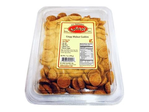 Barmaki Crispy Walnut Cookies 7oz. (198g)